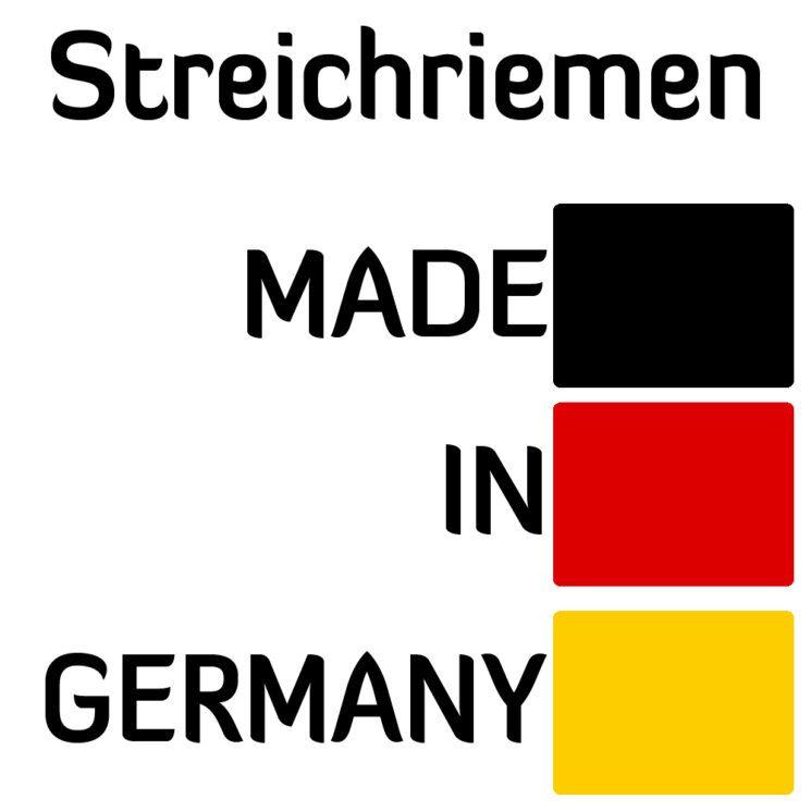 Streichriemen Made in Germany