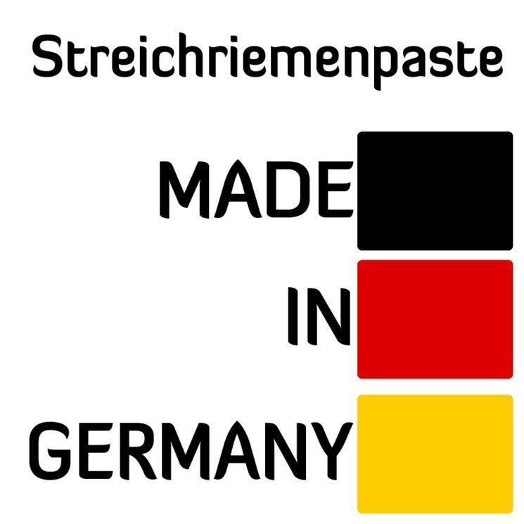 Streichriemenpaste Made in Germany